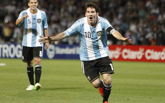 Messi: I wish Argentina could be as successful as Barcelona