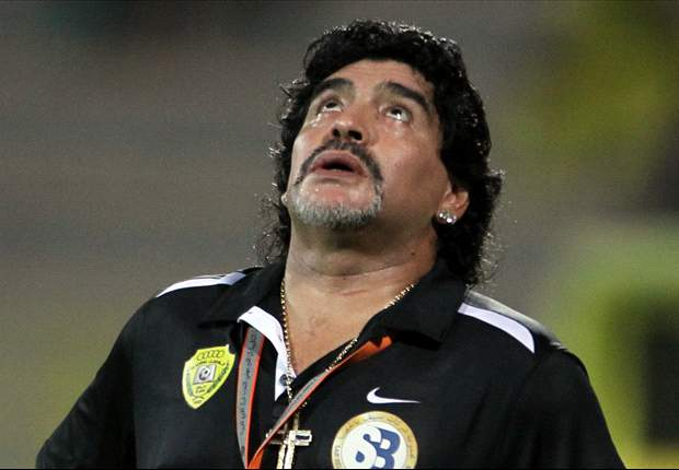 Maradona: I no longer want to work in football