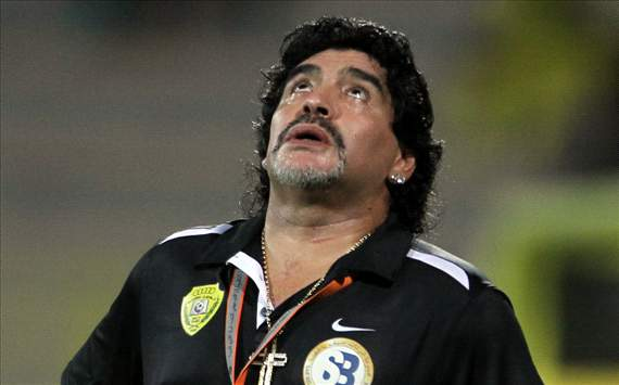 Diego Maradona, 2012