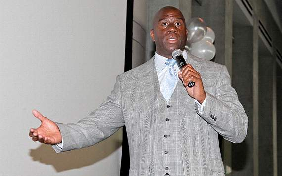 Magic Johnson se rindi ante la habilidad de Messi