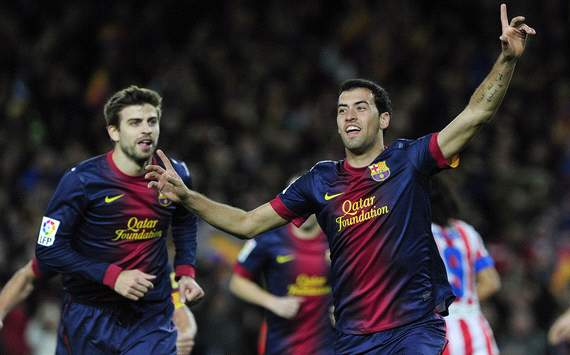 Busquets named as Catalan Footballer of the Year