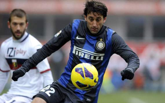 Diego Milito - Inter-Genoa - Serie A