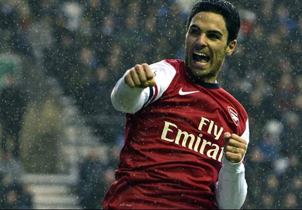 Arsenal penalty hero Arteta hails 'big win' over Wigan