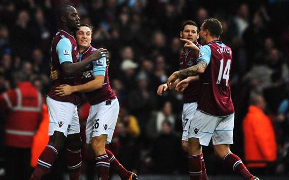 EPL, West Ham United v Everton, Carlton Cole