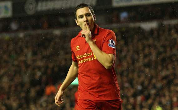 EPL - Liverpool v Fulham, Stewart Downing