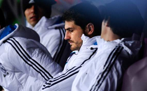 Iker Casillas, suplente - Real Madrid