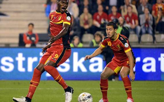 Hazard dreams of playing for Real Madrid, reveals Belgium team-mate Benteke