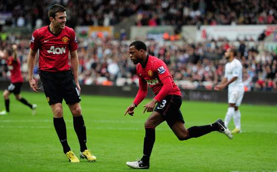 Evra confident of strong Christmas despite Swansea blip