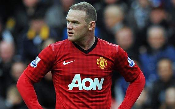 Manchester United striker Rooney: No complaints about Swansea substitution