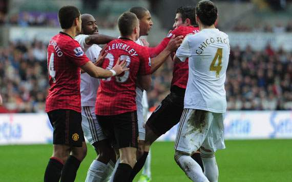 Swansea captain Williams: I'm ready to move on from Van Persie incident