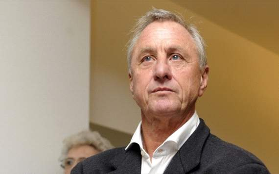 Cruijff: &quot;Blij met doorbraak bij Ajax&quot;