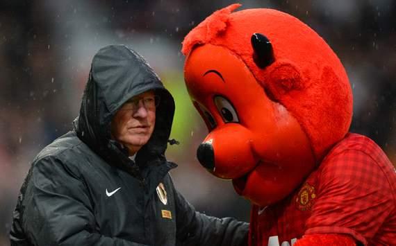 Manchester United v Newcastle United, Alex Ferguson