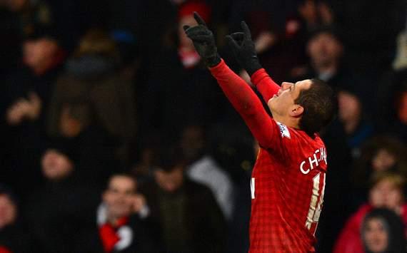 EPL, Manchester United v Newcastle United, Javier Hernandez