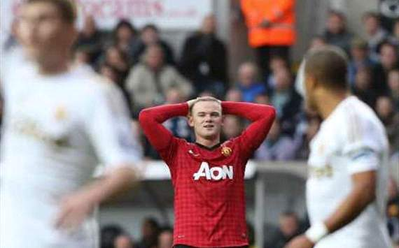 Rooney ruled out of Liverpool clash as Nani &amp; Anderson return