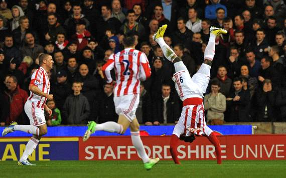 EPL, Stoke City v Liverpool, Kenwyne Jones