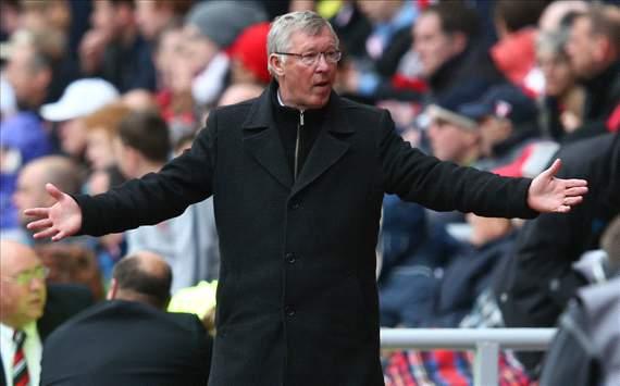 Alex Ferguson, Manchester United, 2012