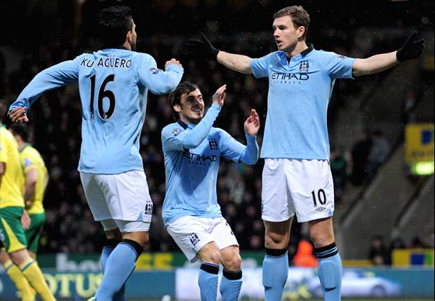 Dzeko insists Manchester City title challenge is not over