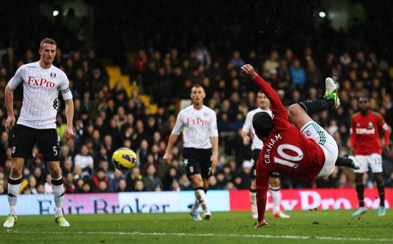 EPL, Fulham v Swansea City,  Danny Graham