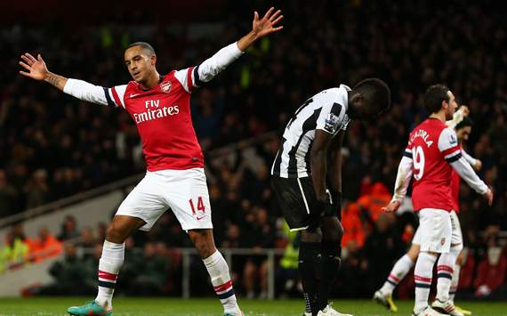 EPL - Arsenal v Newcastle United, Theo Walcott