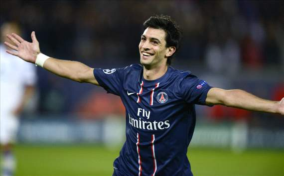 Javier Pastore, PSG, 2012