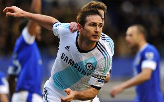 Frank Lampard, Chelsea, Everton, Premier League
