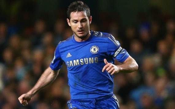 Lazio president coy over Lampard link
