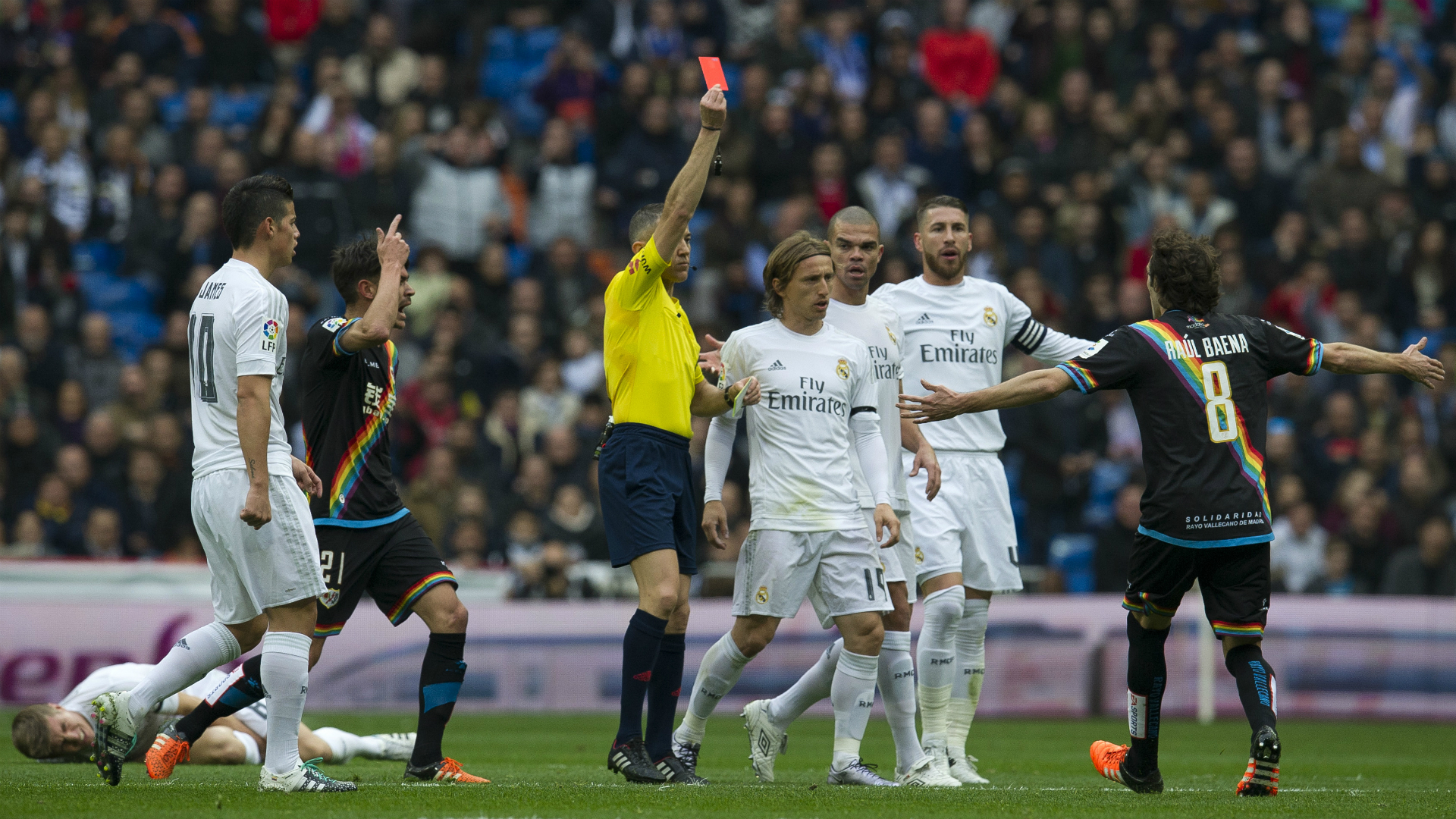 Image result for real madrid and referee picture