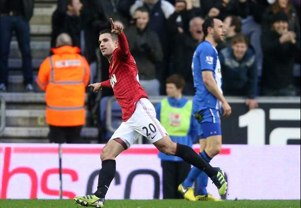'I'm surrounded by champions' - Van Persie hails Manchester United team-mates after Wigan win