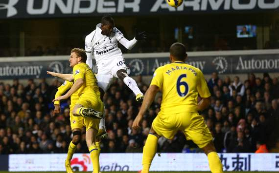 TEAM NEWS: Adebayor starts alongside Defoe for Tottenham Andre Villas-Boas has chosen to start Emmanuel Adebayor up against QPR