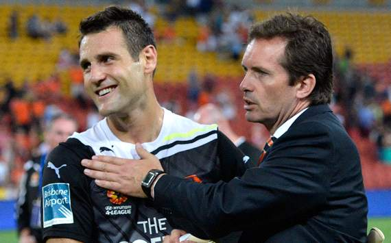 Michael Theo - Mike Mulvey - Brisbane Roar