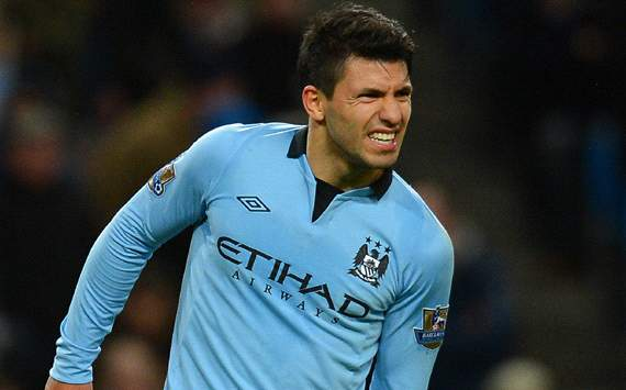 Manchester City rocked by Aguero torn hamstring blow