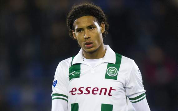 Groningen defender Virgil van Dijk reveals Everton interest