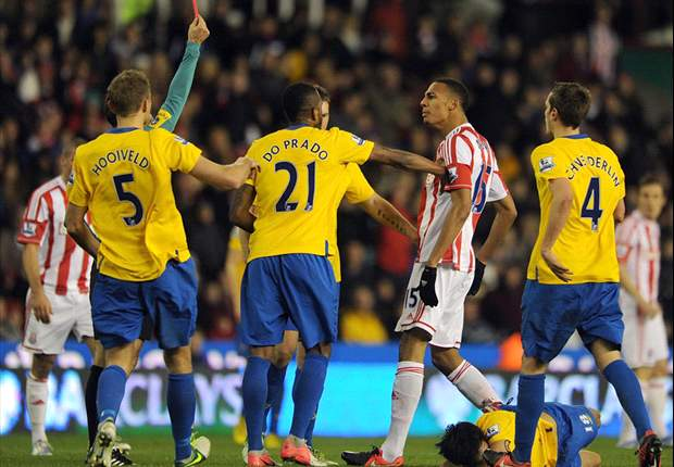 Stoke midfielder Nzonzi has red card received against Southampton rescinded