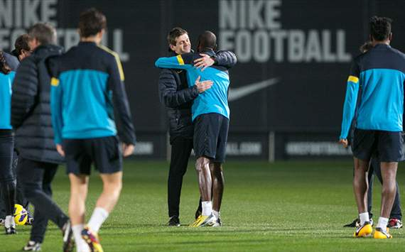 FC Barcelona: Eric Abidal vor Comeback