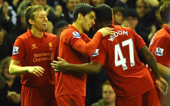 EPL, Liverpool v Sunderland, Luis Suarez