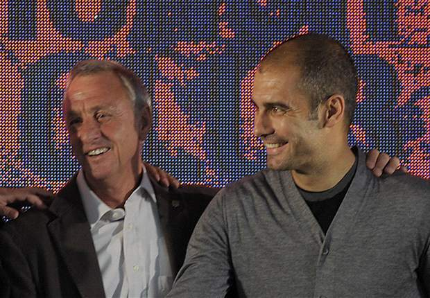 Cruyff: Guardiola would be the ideal man for Catalunya