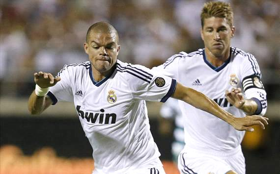 Pepe: Real Madrid made to 'suffer' on set-plays