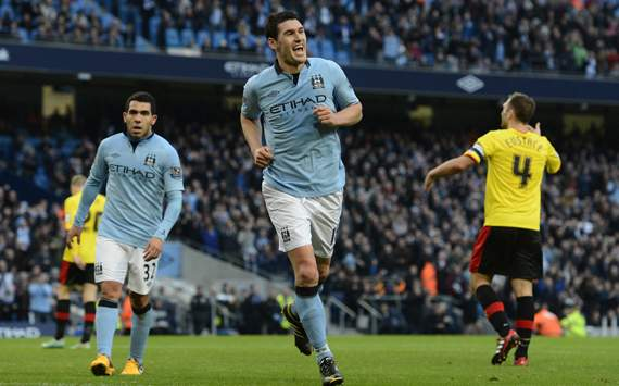 FA Cup - Manchester City and Watford, Gareth Barry