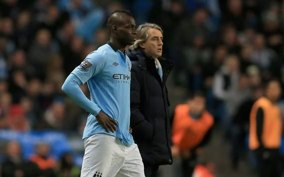 Mancini exasperated by constant Balotelli questioning