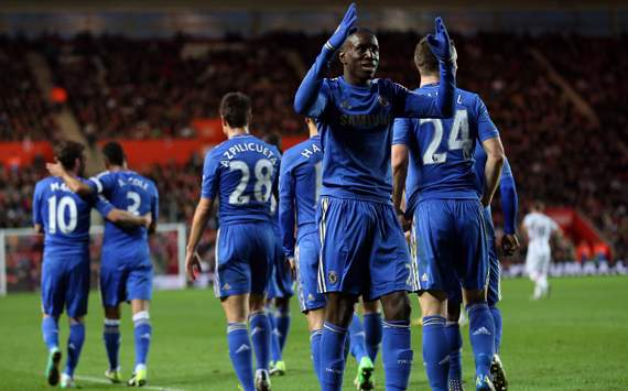 FA Cup - Southampton v Chelsea, Demba Ba