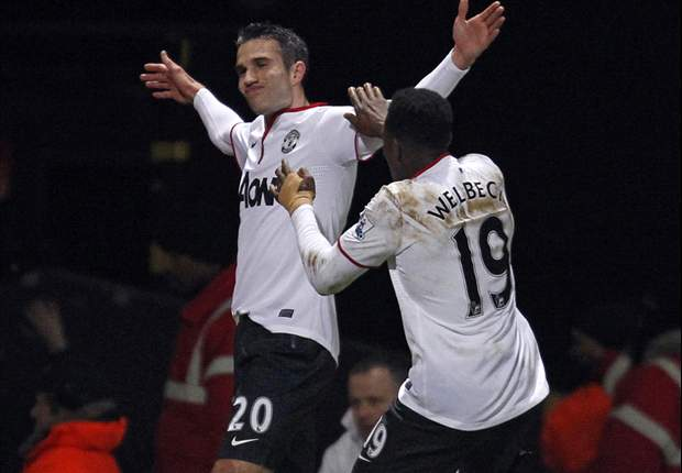 Ruthless Van Persie proves again why he & Manchester United are a match made in heaven