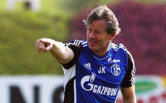 Schalke-Coach Keller: Eine gewisse Verunsicherung ist da