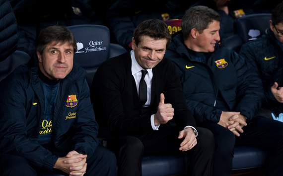 Vilanova: My situation will help keep Barcelona grounded