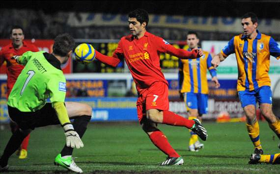 Should Luis Suarez have owned up to his handball against Mansfield?