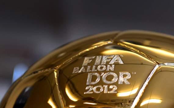 با گزارش زنده مراسم توپ طلای سال 2012 همراه ما باشید