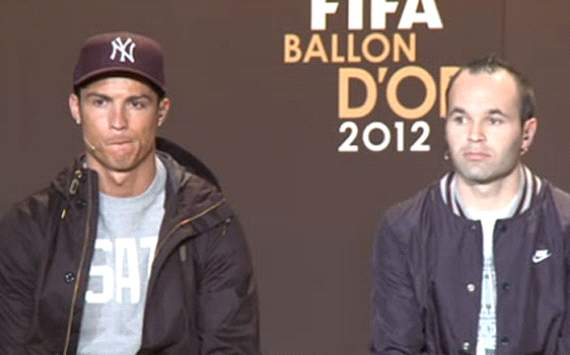 'Being among the Ballon d'Or finalists is an honour' - Iniesta