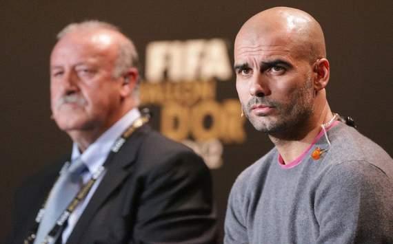 Pep Guardiola - Ballon d'Or press conference