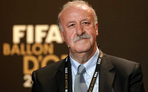 Vicente del Bosque named Coach of the Year