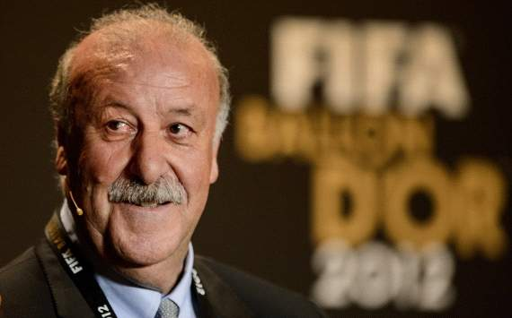 Spain is at the top of football today, says Coach of the Year Del Bosque