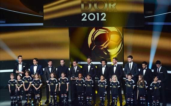 FIFA / Ballon D'or 2012 : Best XI